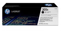 HP CE410X Lézertoner LaserJet Pro 300 MFP M375 nyomtatóhoz, HP 305X fekete, 4k