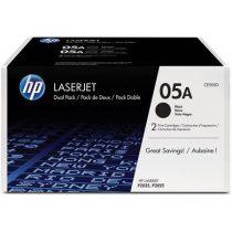 HP CE505D Lézertoner LaserJet P2035, P2055 nyomtatókhoz, HP fekete, 2*2,3k