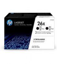 HP CF226XD Lézertoner LaserJet Pro M402, 426 nyomtatókhoz, HP 26X, fekete, 2*9k