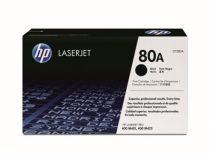HP CF280A Lézertoner LaserJet Pro 400 M401 sorozat, M425 nyomtatókhoz, HP 80A, fekete, 2,7k