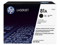 HP CF281A Lézertoner LaserJet Enterprise M604n, MFP M630f nyomtatókhoz, HP 81, fekete, 10,5k