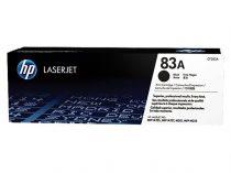 HP CF283A Lézertoner LaserJet Pro M125, M126, M127, M128 nyomtatókhoz, HP 83A, fekete, 1,5k