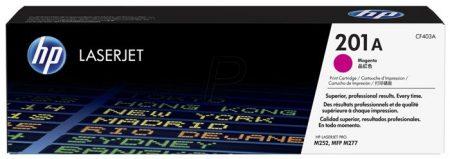 HP CF403A Lézertoner Color LaserJet Pro M252,M277 nyomtatóhoz, HP 201A, magenta, 1,4k