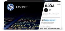 HP CF450A Lézertoner Color LaserJet M681, M682 nyomtatókhoz, HP 655A, fekete, 12,5k