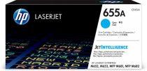 HP CF451A Lézertoner Color LaserJet M681, M682 nyomtatókhoz, HP 655A, cián, 10,5k