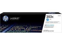 HP CF541X Lézertoner HP ColorLaserJet Pro MFP M280nw, MFP M281fdn, MFP M281fdw nyomtatókhoz, HP 203X ciánkék 2,5k