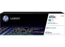 HP W2031X Lézertoner Color LaserJet Pro M454, MFP M479 nyomtatókhoz, HP 415X, cián, 6k