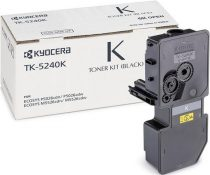KYOCERA TK5240 Lézertoner M5526CDN, 5526CDW, P5026CDN, 5026CDW nyomtatókhoz, KYOCERA, fekete, 4k