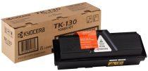 KYOCERA TK130 Lézertoner FS 1028DP MFP, 1300D nyomtatóhoz, KYOCERA, fekete, 7,2k