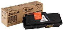 KYOCERA TK160 Lézertoner FS 1120D nyomtatóhoz, KYOCERA fekete, 2,5k