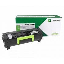 LEXMARK 51B2000 Lézertoner MS/317/417/517/617 nyomtatókhoz, LEXMARK, fekete, 2,5k (return)
