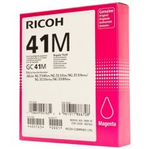 RICOH 405763 Gélpatron SG 3100SNw, SG 7100DN nyomtatókhoz, RICOH Type GC41M, magenta, 2,2k
