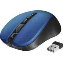 """TRUST Egér, vezeték nélküli, optikai, USB, TRUST """"Mydo"""", kék"""