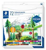"""STAEDTLER Színes ceruza készlet, hatszögletű, STAEDTLER """"Design Journey"""", 72 különböző szín"""