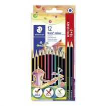 """STAEDTLER Színes ceruza készlet, hatszögletű, STAEDTLER """"Noris Colour"""", 10+2 különböző szín"""