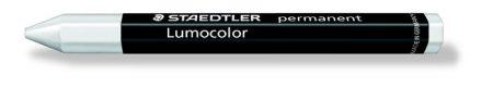 "STAEDTLER Jelölőkréta, mindenre író, vízálló (omnigraph), STAEDTLER ""Lumocolor"", fehér"