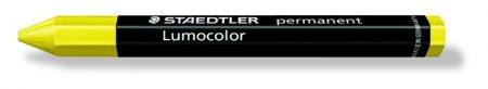 """STAEDTLER Jelölőkréta, mindenre író, vízálló (omnigraph), STAEDTLER """"Lumocolor"""", sárga"""