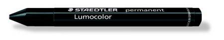 "STAEDTLER Jelölőkréta, mindenre író, vízálló (omnigraph), STAEDTLER ""Lumocolor"", fekete"