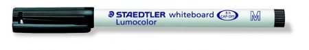 "STAEDTLER Táblamarker, 1 mm, M, kúpos, STAEDTLER ""Lumocolor 301"", fekete"