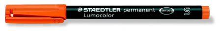 """STAEDTLER Alkoholos marker, OHP, 0,4 mm, STAEDTLER """"Lumocolor 313 S"""", narancssárga"""