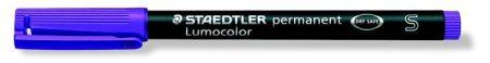 """STAEDTLER Alkoholos marker, OHP, 0,4 mm, STAEDTLER """"Lumocolor 313 S"""", lila"""
