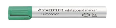 """STAEDTLER Táblamarker, 2-5 mm, vágott, STAEDTLER """"Lumocolor 351 B"""", zöld"""