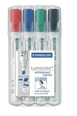 """STAEDTLER Táblamarker készlet, 2-5 mm, vágott, STAEDTLER """"Lumocolor 351 B"""", 4 különböző szín"""
