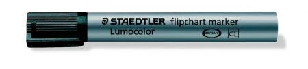 """STAEDTLER Flipchart marker, 2 mm, kúpos, STAEDTLER """"Lumocolor 356"""", fekete"""