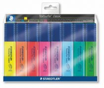 """STAEDTLER Szövegkiemelő készlet, 1-5 mm, STAEDTLER """"Textsurfer Classic"""", 8 különböző szín"""