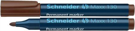 "SCHNEIDER Alkoholos marker, 1-3 mm, kúpos, SCHNEIDER ""Maxx 130"", barna"