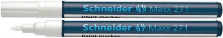 """SCHNEIDER Lakkmarker, 1-2 mm, SCHNEIDER """"Maxx 271"""", fehér"""