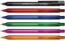 """SCHNEIDER Golyóstoll, 0,5 mm, nyomógombos, SCHNEIDER """"Fave"""", vegyes színek"""