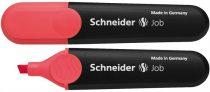 "SCHNEIDER Szövegkiemelő, 1-5 mm, SCHNEIDER ""Job 150"", piros"