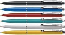 "SCHNEIDER Golyóstoll, 0,5 mm, nyomógombos, vegyes tolltest, SCHNEIDER ""K15"", kék"