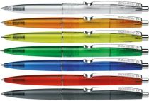 "SCHNEIDER Golyóstoll, 0,5 mm, nyomógombos, vegyes színű test, SCHNEIDER ""K20"", kék"