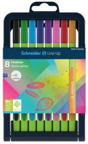 "SCHNEIDER Tűfilc készlet, 0,4 mm, SCHNEIDER ""Line-Up"", 8 különböző szín"