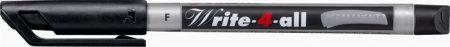 """STABILO Alkoholos marker, 0,7 mm, kúpos, STABILO """"Write-4-all"""", fekete"""