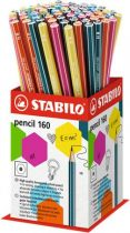 "STABILO Grafitceruza display, HB, hatszögletű, STABILO ""Pencil 160"""