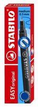 """STABILO Rollertoll betét, zselés, 0,5 mm, STABILO """"Easy original"""", kék"""