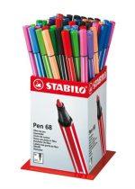 "STABILO Rostirón display, 1 mm, STABILO ""Pen 68"" , vegyes színek"