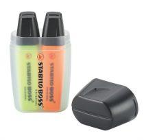 """STABILO Szövegkiemelő készlet, 2-5 mm, STABILO """"Boss Big Box"""", 4 különböző szín"""