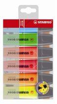 """STABILO Szövegkiemelő készlet, 2-5 mm, STABILO """"BOSS original"""", 6 különböző szín"""