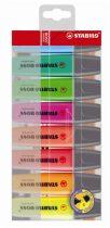 """STABILO Szövegkiemelő készlet, 2-5 mm, STABILO """"BOSS original"""", 8 különböző szín"""