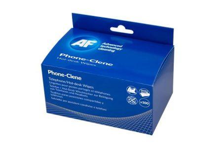 """AF Tisztítókendő, telefonkészülékhez, 100 db, AF """"Phone-Clene"""""""