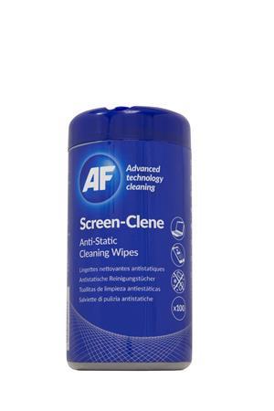 """AF Tisztítókendő, képernyőhöz, antisztatikus, 100 db, AF """"Screen-Clene"""""""