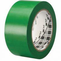 3M Ipari jelzőszalag, 50mm x 33m, 3M, zöld