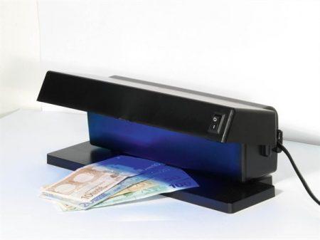 "Bankjegyvizsgáló, UV lámpa, 270x120x105 mm ""DL103"""