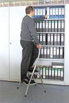 """KRAUSE Fellépő, 2 lépcsőfokos, alumínium, KRAUSE """"Toppy XL"""""""
