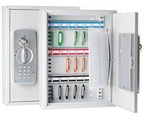 WEDO Zárható kulcsszerkrény elektronikus zárral, 21 db-os WEDO
