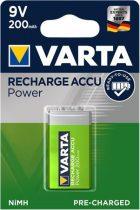 """VARTA Tölthető elem, 9V, 1x200 mAh, előtöltött, VARTA """"Power"""""""